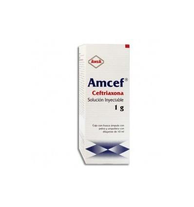 AMCEF 1 gr IV (Ceftriaxona)