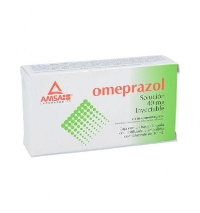 Omeprazol 40 mg / 10 ml c/1 amp inyectable