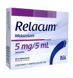 Relacum 5 mg / 5 ml c/5 Amp