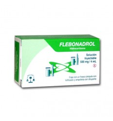 Flebonadrol 500 mg / 4 ml