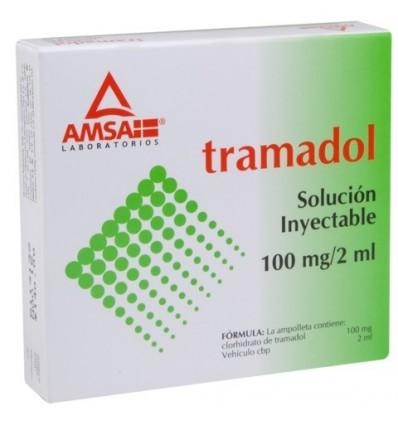 Tramadol 100mg / 2ml c/5 inyectable