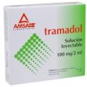 Tramadol 100mg/2ml c/5 amp. Inyectable