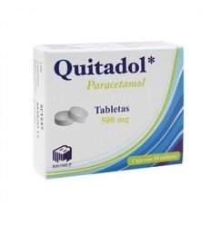 Quitadol 500 mg c/ 10 tabletas