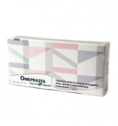 Omeprazol 20 mg c/ 14 caps
