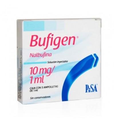 Bufigen 10 mg / 1 ml c/ 5 Amp (Nalbufina)