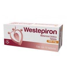Westepiron 500 mg c/10 tab