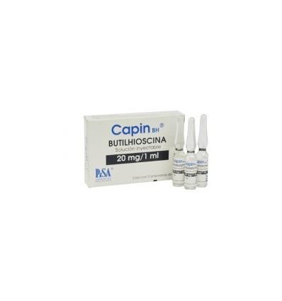 CAPIN 20 MG / 1 ML SOLUCIÓN INYECTABLE CAJA C/3 AMPOLLETA