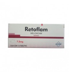 Retoflam-F c/ 10 (Metocarbamol 15 mg / Meloxicam 215 mg)