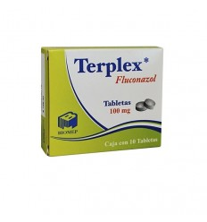 Terplex 100 mg c/10 tab (fluconazol)