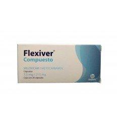 Flexiver Compuesto 7.5/215 mg c/ 10 capsulas