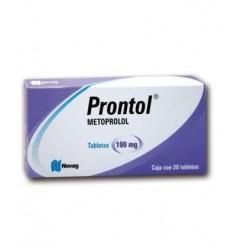 Prontol (Metoprolol 100 mg) c/20 tab.