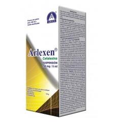 Arlexen Suspensión (Cefalexina 250 mg/5 ml)