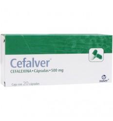 Cefalver 500 mg c20 cap.
