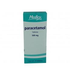 Paracetamol 500 mg c/10 tab Medley