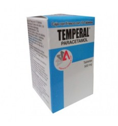 Temperal 500 mg c/10 tab (Paracetamol)