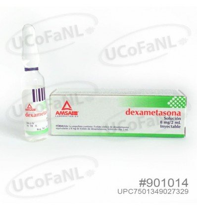 Dexametasona 8mg/2ml sol. inyectable