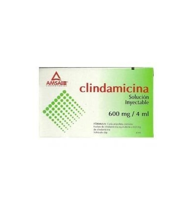 Clindamicina 600mg/4ml c/1 amp