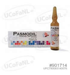 Pasmodil Inyectable Hioscina/Metamizol
