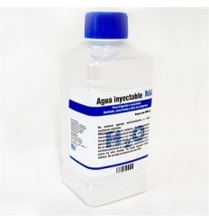 Agua Inyectable 500 ml esteril